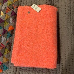 NWT Express Bright Orange Neon Blanket Scarf